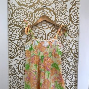 Lilly Pulitzer Bow Strap Sorbet Floral Dress
